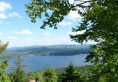View of Piseco Lake from Panther Mountain