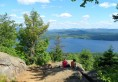 Piseco Lake from Panther Mountain 1