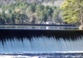 Dam on Lake Algonquin in Wells