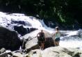 Buttermilk Falls outside Long Lake