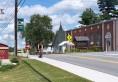 Long Lake Street Scene