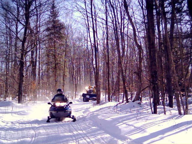 Snowmobile Adirondacks